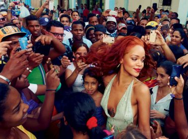 This is What Rihanna's Visit to Cuba Actually Looked Like