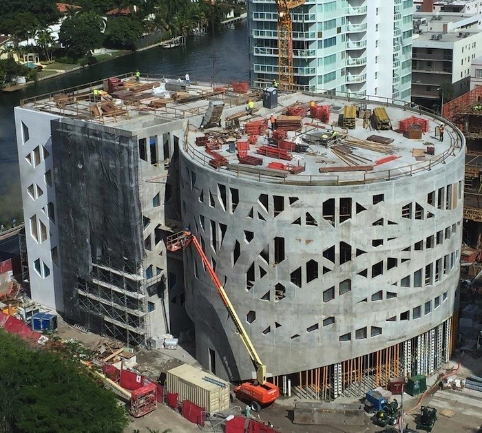 Faena Hotel Miami Beach, currently under construction.