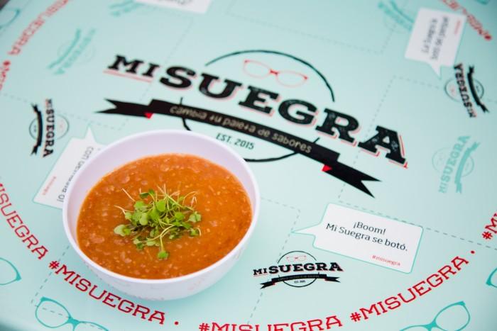 Tomato medley soup.