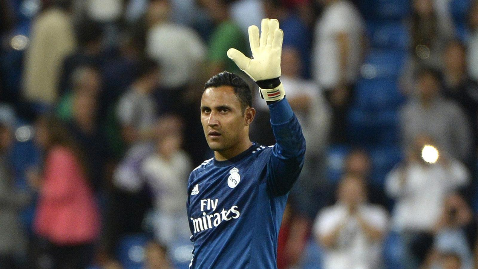 Keylor Navas Is Back in Champions League Action