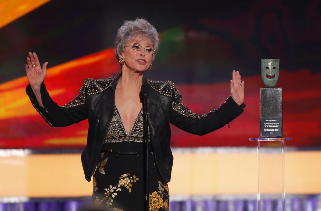 Watch Rita Moreno Receive A Kennedy Center Honors On Tv