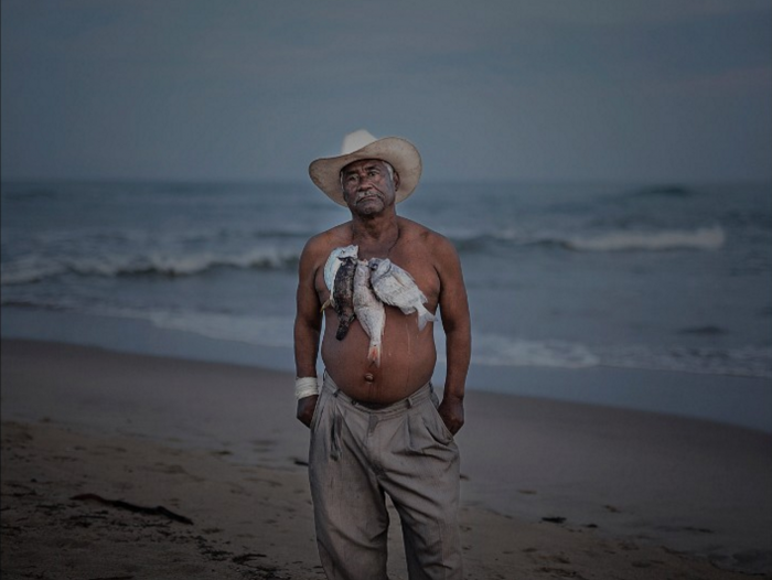 Portraits of Afro-Mexicans by photographer Mara Sanchez Renero. Photo via CNN