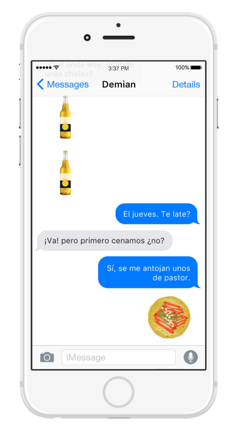 Halloween Emoji Text: This Latino Emoji App Just Made All Our Wildest Texting
