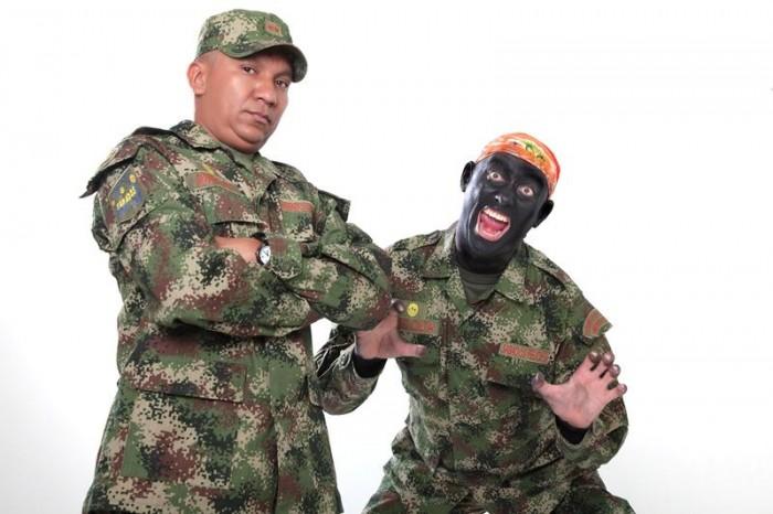 blackface colombia soldado micolta sabados felices