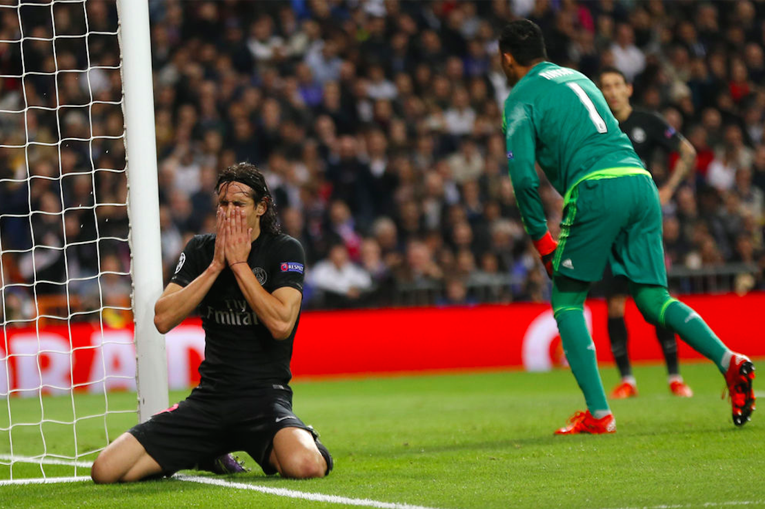 There Was a Clear Winner in the Cavani vs. Navas Battle, and Twitter Noticed