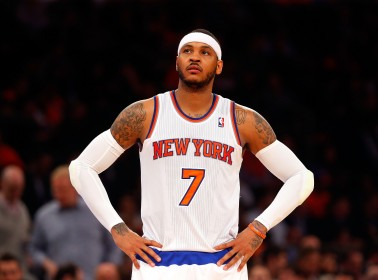 Carmelo Anthony Says His Shot Will Come Back, But We're Still Waiting