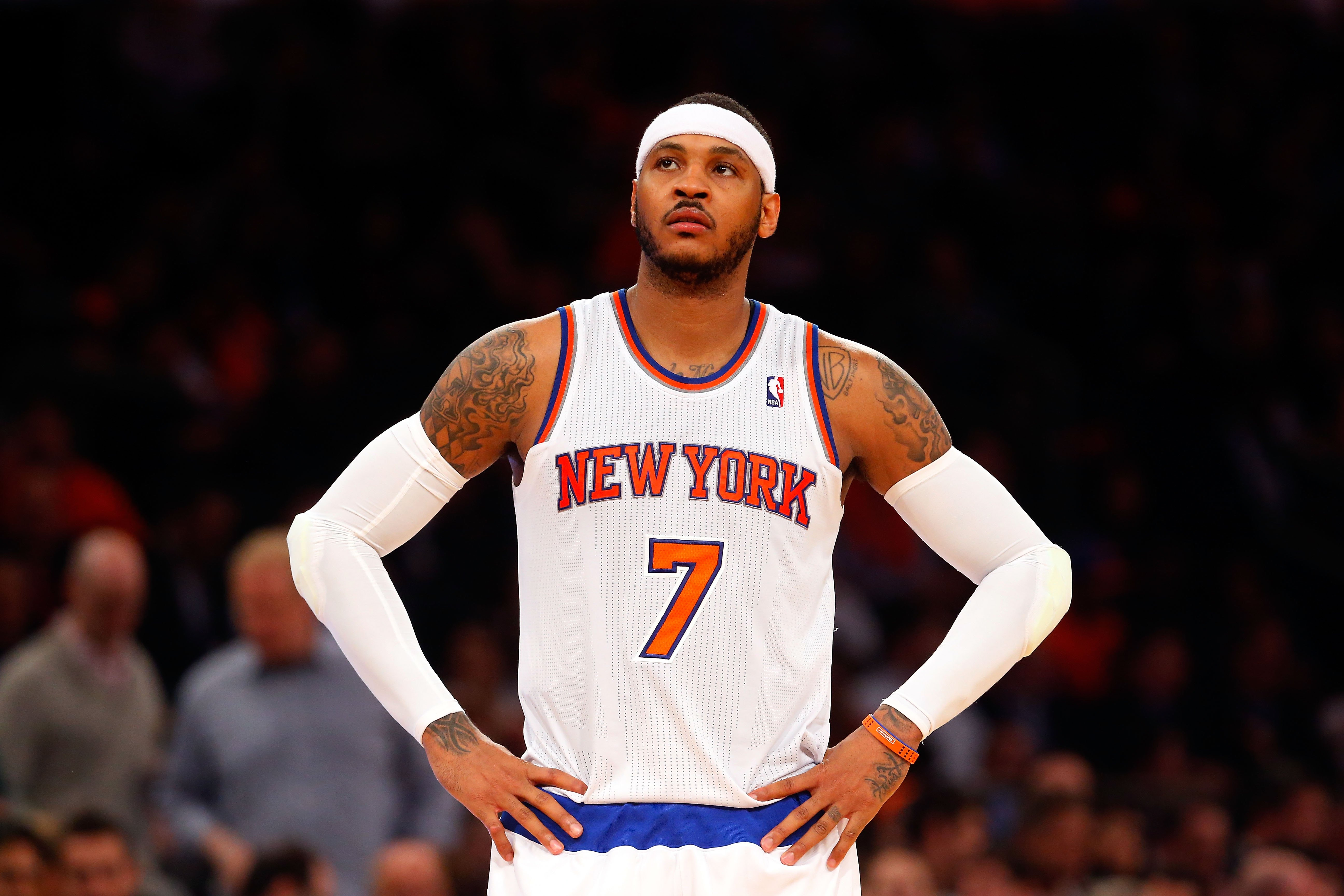 carmelo anthony says his shot will come back