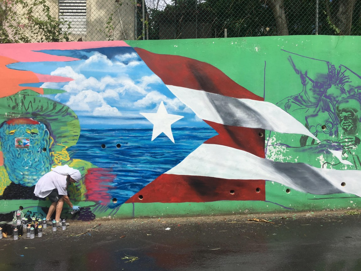 Color Libre Takes Street Art Beyond San Juan