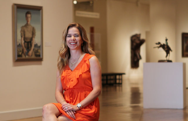 Alejandra de la Vega. Photo by Ruben R Ramirez / El Paso Times