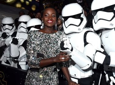 The Best Moments From Oscar Isaac's and Lupita Nyongo's Whirlwind 'Star Wars: The Force Awakens' Tour