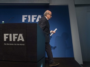 """Sepp Blatter on Being Banned From Fútbol For 8 Years: """"I'm Still A Punching Ball"""""""
