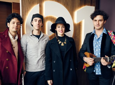 Monsieur Periné Remember Their Wedding Band Beginnings and Perform on Beats 1