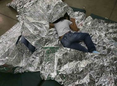 U.S. Border Patrol Houses Unaccompanied Minors In Detention Center. John Moore/Getty Images/AFP
