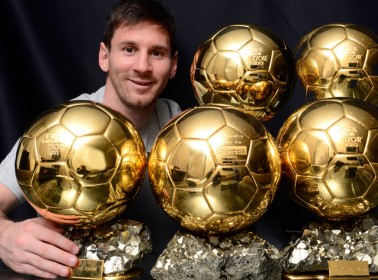 Lionel Messi Has Won an Unprecedented Fifth Ballon d'Or