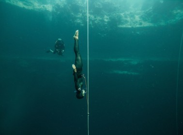 Sofía Gómez Uribe Started Freediving 4 Years Ago and She's Already Breaking International Records