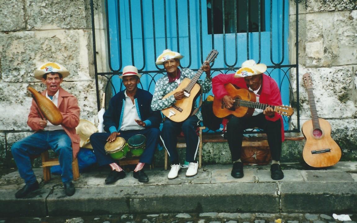 """Street Musician-Havana,"" by Arthur Brown"