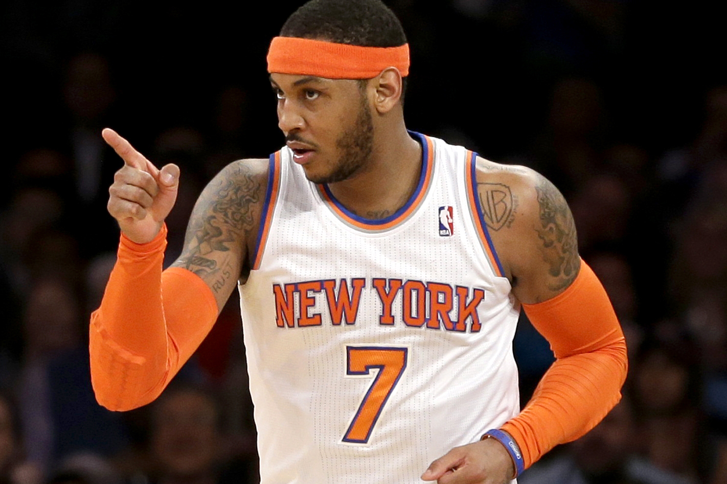 The NBA and Carmelo Anthony Take a Powerful Stand Against Gun Violence in New PSA