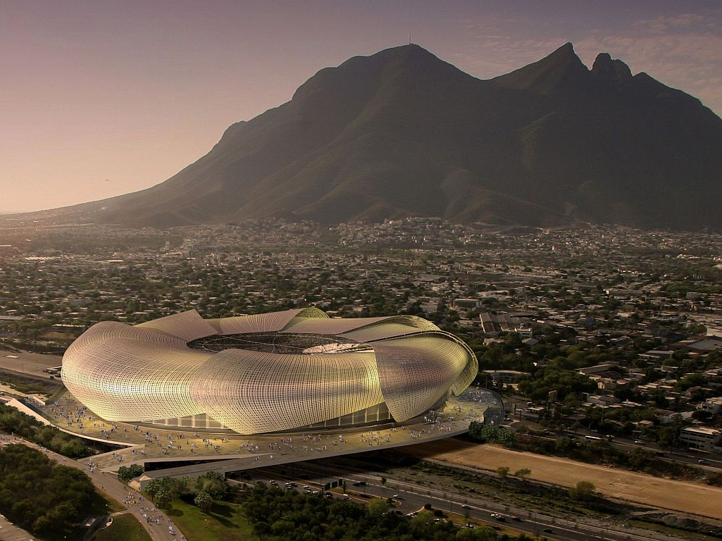 Monterrey's New Stadium Might Be Home to the First International Super Bowl