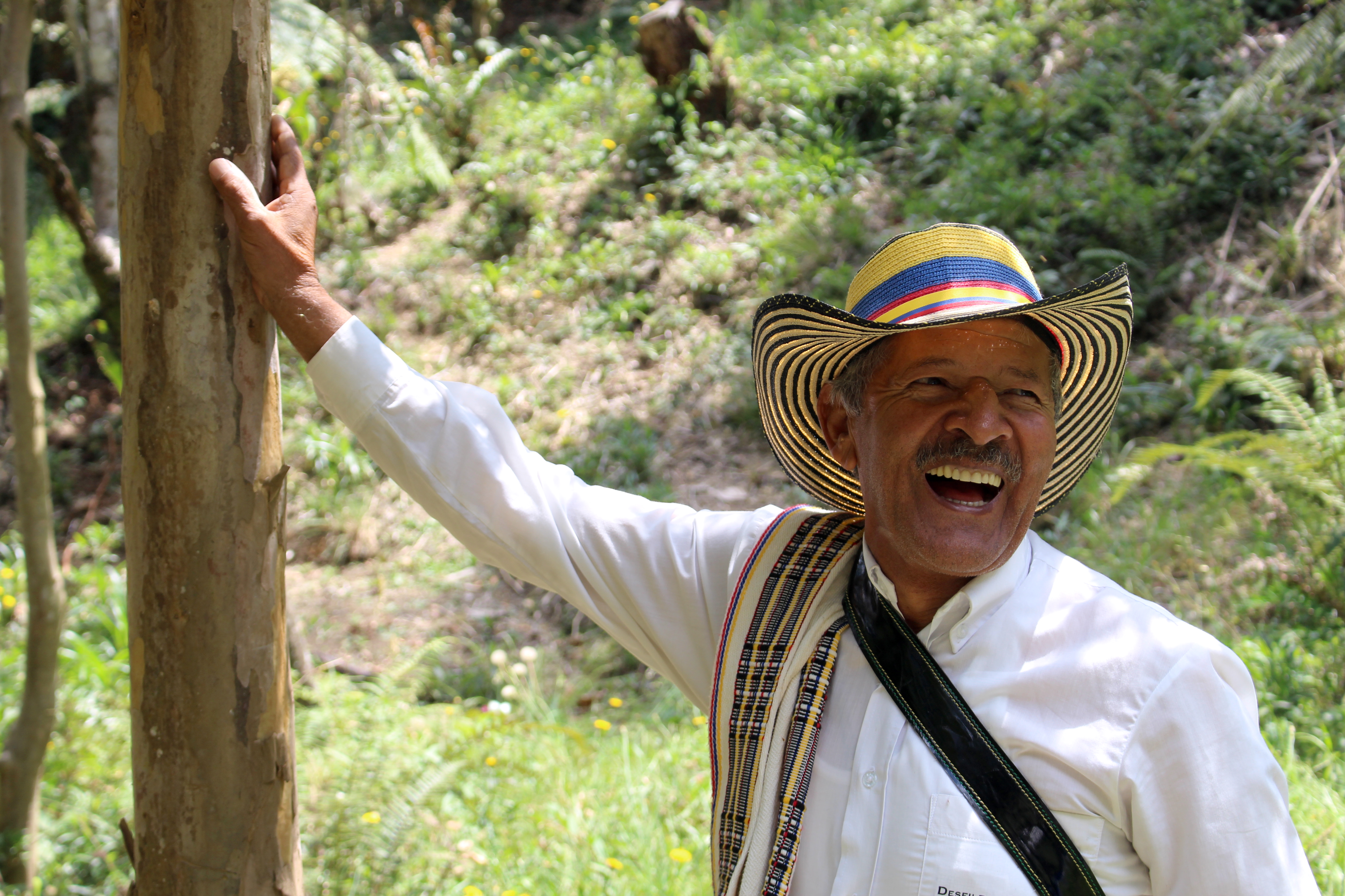The Juan Valdez of Colombia's Flower Industry: Meet the Face of Santa Elena's 19th Century Silletero Tradition