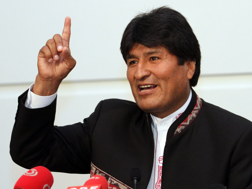 Bolivian President Evo Morales Holds Out Hope for Fourth Term, Though Polls Predict Defeat