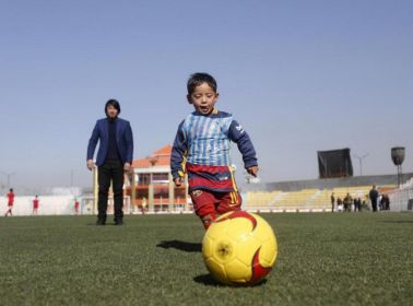 Messi Might Meet the Young Afghan Boy Who Made a Jersey Out of a Plastic Bag
