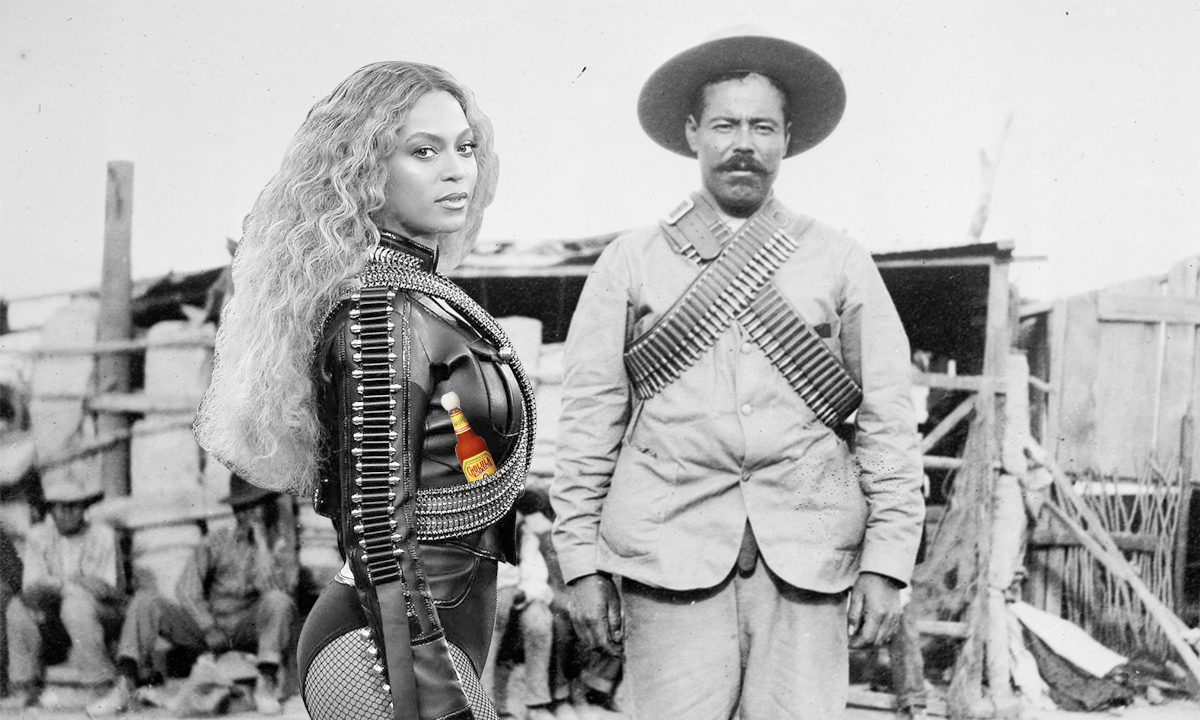 Beyoncé and Pancho Villa Twinned, Plus Other Super Bowl Meme Highlights