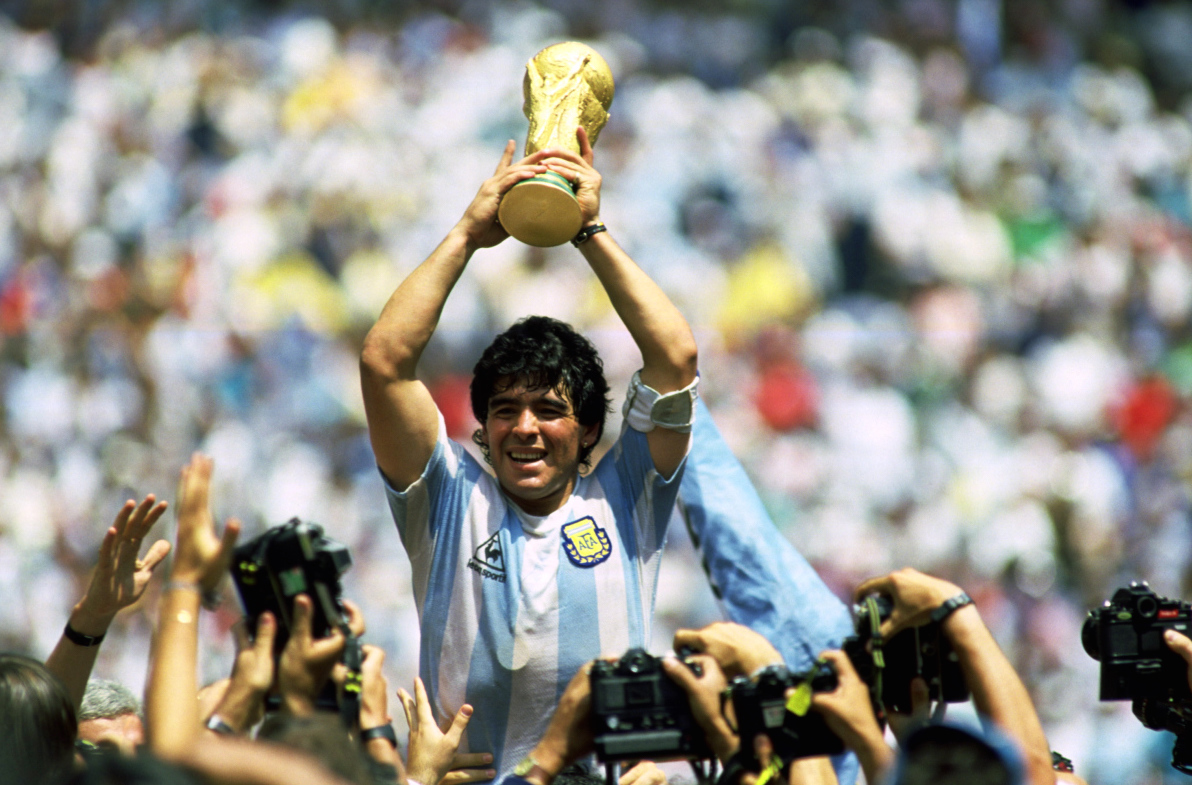 Oscar-Winning Director of 'Amy' to Helm Documentary About the Life of Diego Maradona