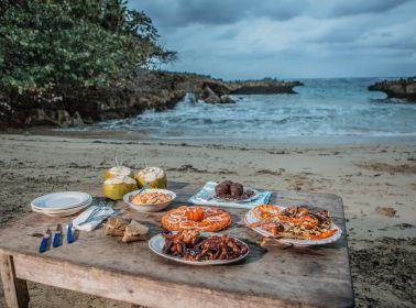 Beach dinner in Baracoa, Cuba. Photo by: Asori Soto