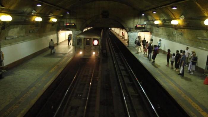 HOME subway shot