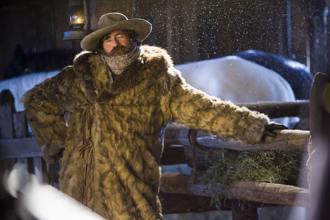 how the hateful eight s bob the mexican came to be