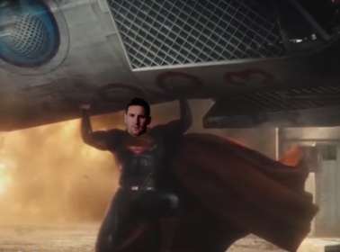 The Messi-Ronaldo Rivalry Gets the 'Batman v Superman' Treatment in This Parody Video