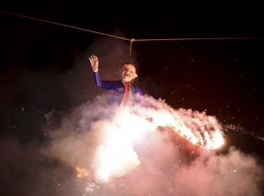 Donald Trump and Nicolás Maduro Effigies Burned Across Latin America This Easter