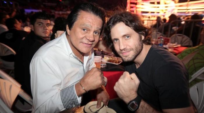 Roberto Duran and Edgar Ramirez