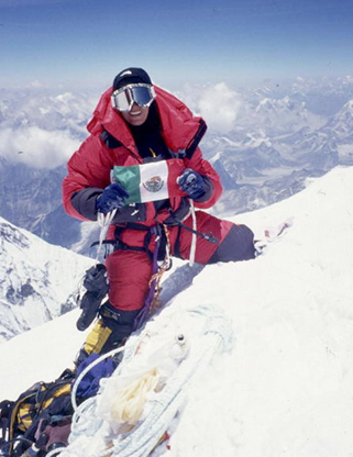 Famous Mexican Alpinist Karla Wheelock