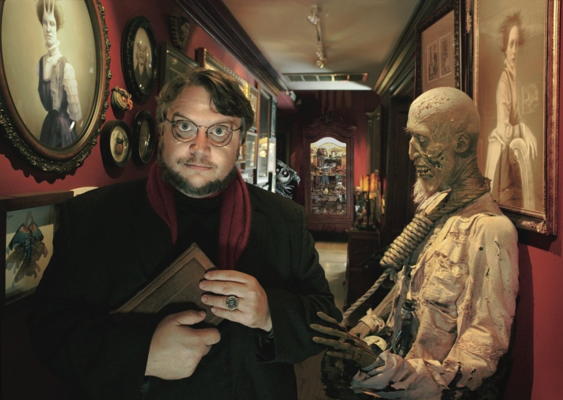 Guillermo del toro hizo una exhibición LACMA.