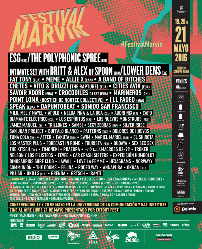 Festival Marvin poster