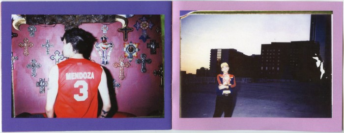 Bleached Polaroid Project by Stephanie Segura