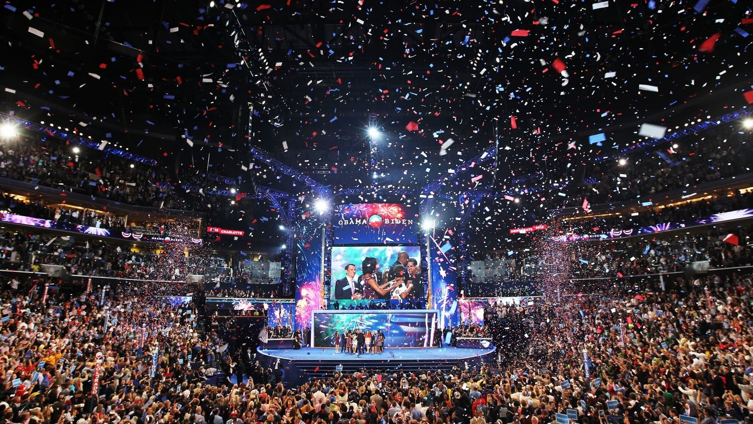 Democratic national convention pictures