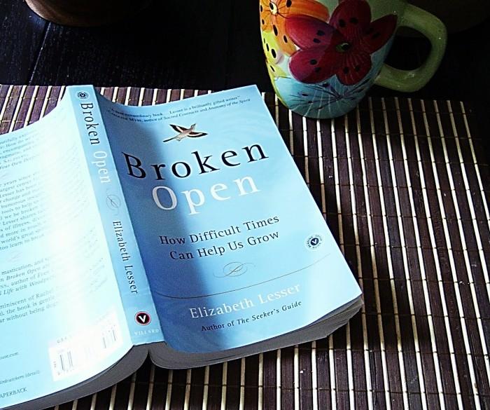 to use broken open