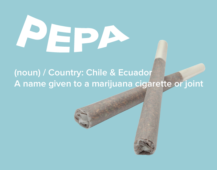 Spanish slang for marijuana