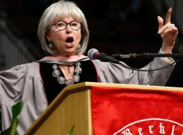 Rita Moreno Is So Inspired by 'Hamilton' That She Rapped Her Berklee Commencement Address