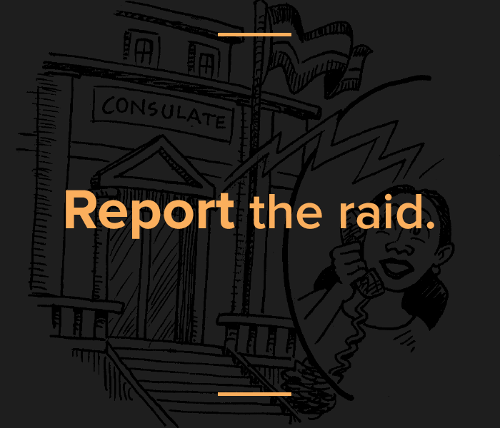 ICE raids know your rights
