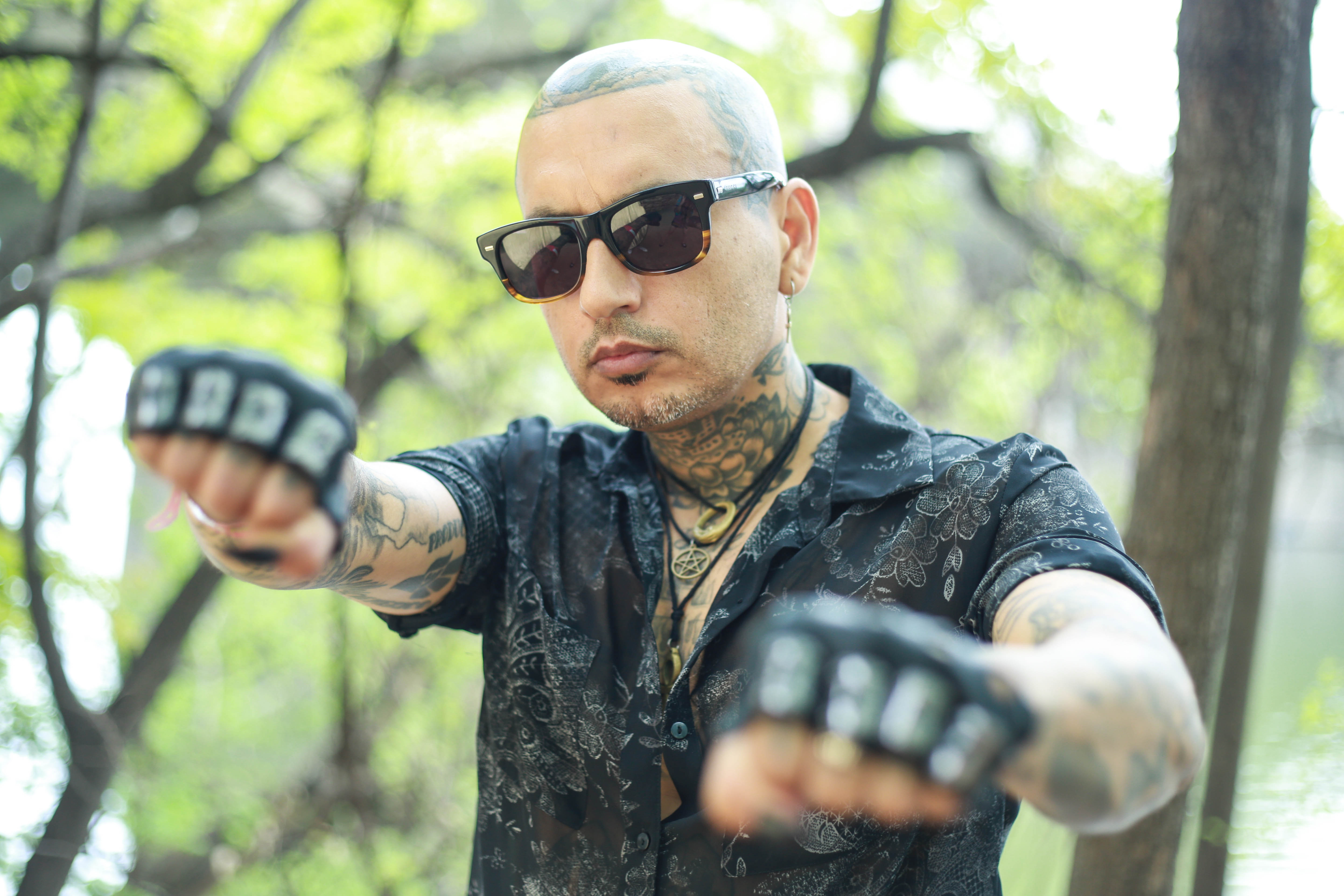 Kat Von D & Leafar Seyer Are a Match Made in Latino Goth Heaven