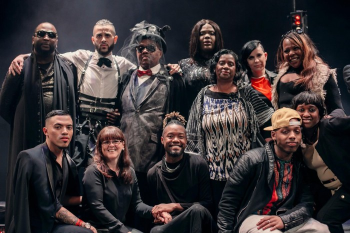 KIKI cast members pose for a portrait at the NYC premiere of KIKI, part of the Red Bull Music Academy Festival, at El Museo Del Barrio in New York City, NY, USA on 29 April, 2016.