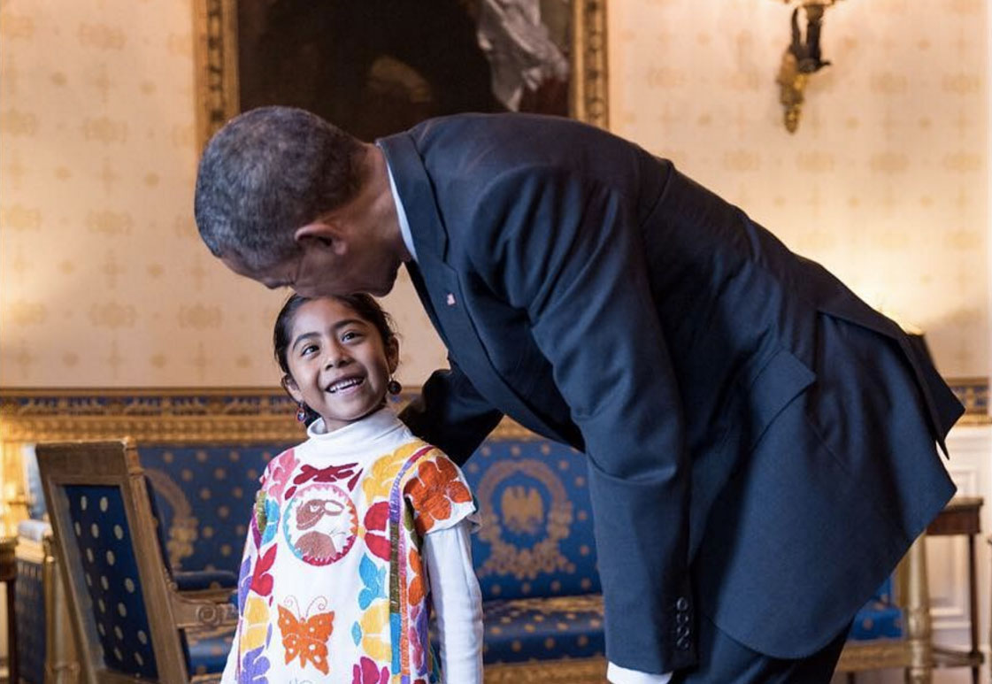 Sophie Cruz Met With President Obama on Cinco de Mayo, But Her Undocumented Parents Couldn't Join Her