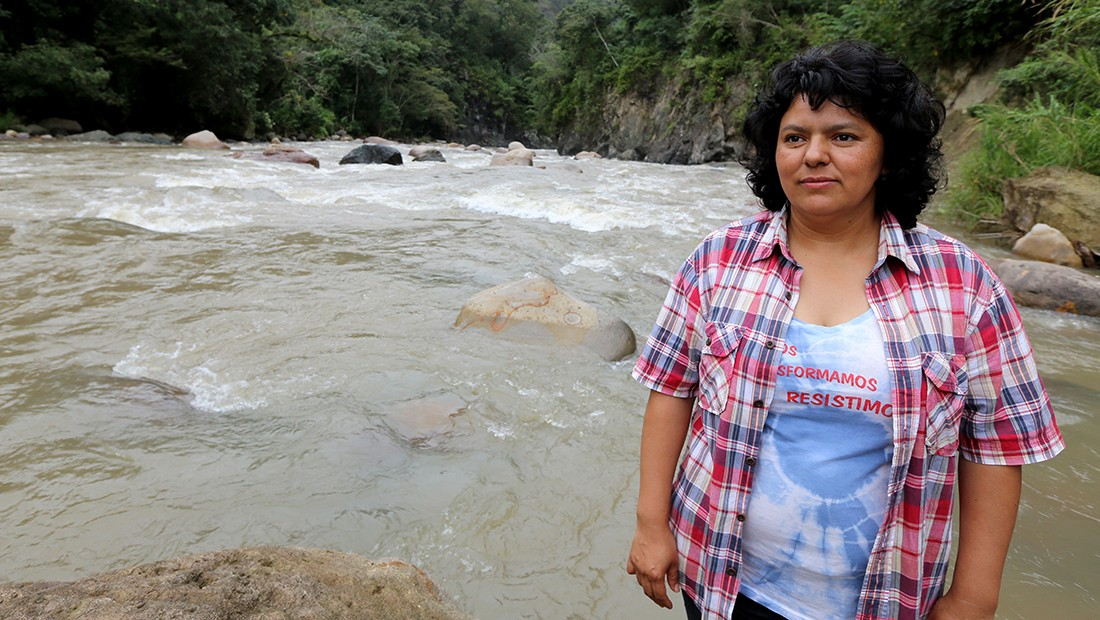 As Four Are Arrested in Connection to Berta Cáceres Murder, Court Docs Suggest She Was Killed Because of Her Activism