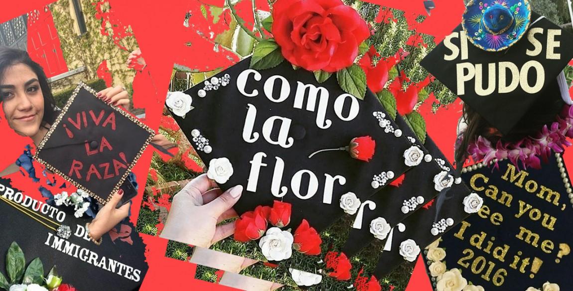 15 Inspiring Grad Caps Honoring Immigrant Parents\' Sacrifices