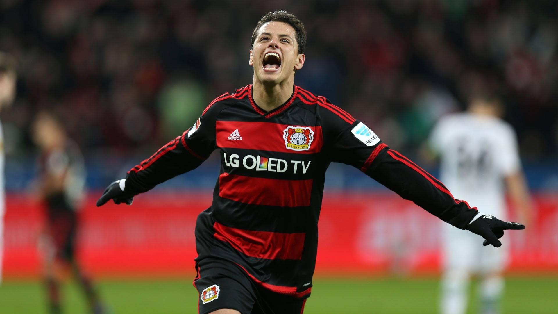 Chicharito Leads The Starting Lineup Of This Year's Bundesliga