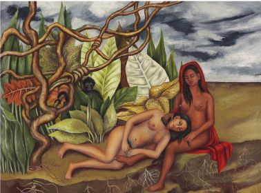 frida-kahlo-two-nudes-in-a-forest