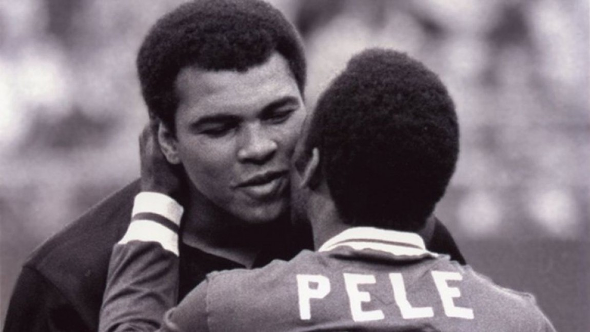 Image result for pele and muhammad ali